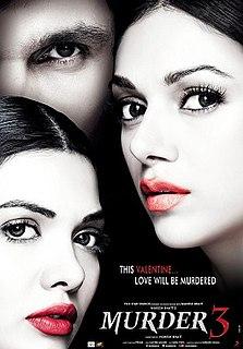<i>Murder 3</i> 2013 Indian Hindi language film by Vishesh Bhatt