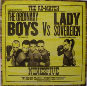 9 to 5 (Lady Sovereign song) - Image: NINE2FIVEREMATCH