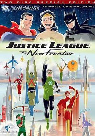 Justice League: The New Frontier - Two-Disc Special Edition DVD cover art