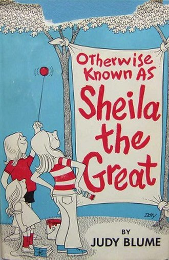 Otherwise Known as Sheila the Great - Image: Otherwise Known as Sheila the Great book cover