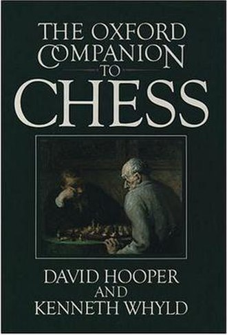 The Oxford Companion to Chess - The Oxford Companion to Chess