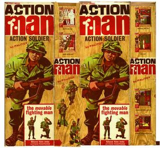 Action Man action figure launched in Britain in 1966