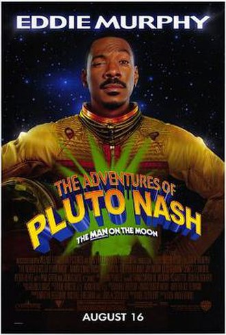 The Adventures of Pluto Nash - Theatrical release poster
