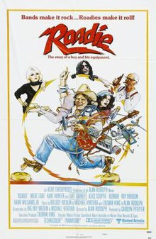 Poster of the movie Roadie.jpg
