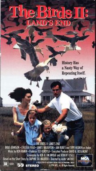 The Birds II: Land's End - VHS cover