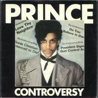 Controversy (song) - Image: Prince Controversy Single