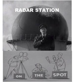 Radar Station (film) - Screen shot of title frame