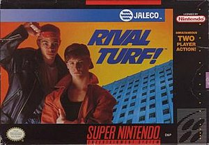 Rival Turf! - North American cover art of Rival Turf!