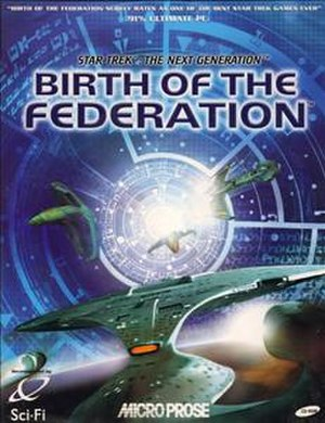 Star Trek: Birth of the Federation - Birth of the Federation box art