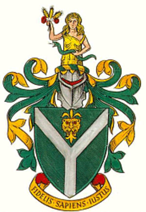 South Herefordshire - The arms of South Herefordshire District Council