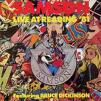 Live at Reading '81 - Image: Samson Live At Reading