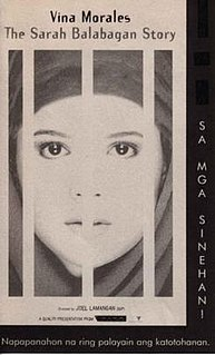 <i>The Sarah Balabagan Story</i> 1997 film by Joel Lamangan