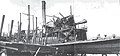 Sarah Dixon (sternwheeler) after 1924 shipyard fire.jpg