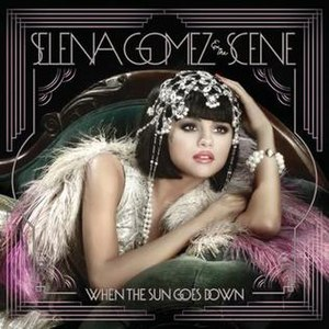 When the Sun Goes Down (Selena Gomez & the Scene album) - Image: Selena Gomez When the Sun Goes Down