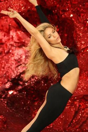 She Wolf (Shakira song) - Image: Shakira She Wolf music video