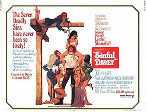 Sinful Davey - Theatrical poster