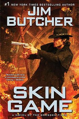 The Dresden Files - Skin Game cover