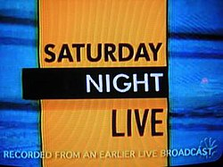 The title card for the twelfth season of Saturday Night Live.