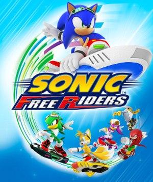 Sonic Free Riders - Image: Sonic Free Riders Box Artwork