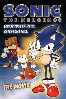 <i>Sonic the Hedgehog</i> (OVA) 1996 animation based on video game