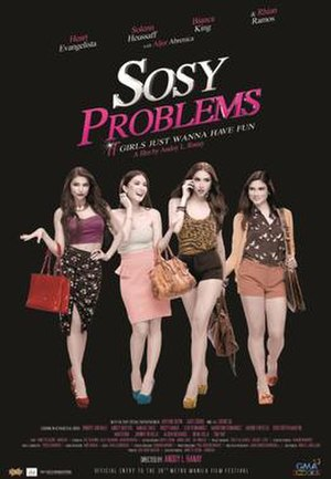 Sosy Problems - Theatrical movie poster