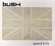 "Early covers of the single, showing the original title of the song, ""Speed Kills""."