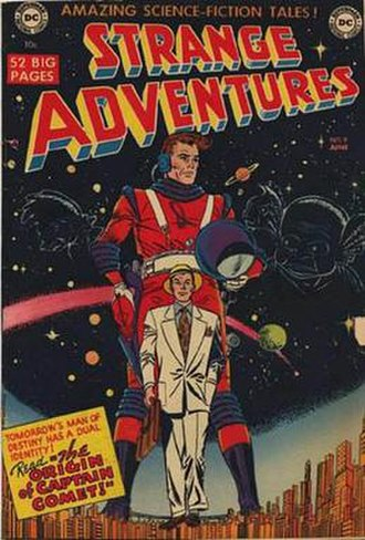 Captain Comet - Image: Strange adventures 9
