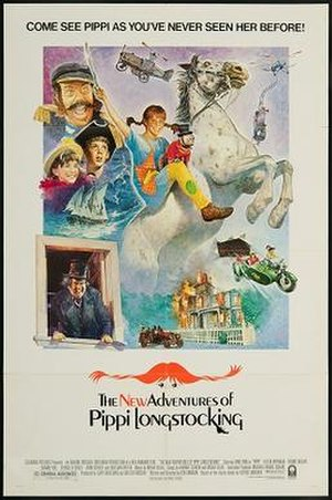 The New Adventures of Pippi Longstocking - Theatrical release poster