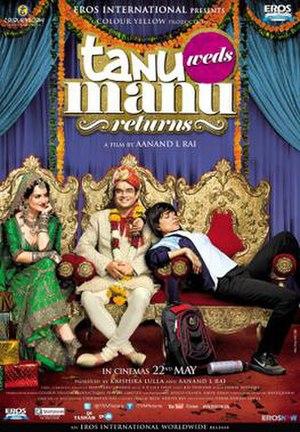 Tanu Weds Manu: Returns - Theatrical Release Poster