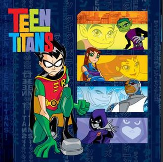 Teen Titans (season 1) - Digital cover art