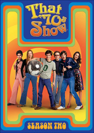 That '70s Show (season 2) - DVD cover