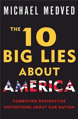 The 10 Big Lies About America - Book cover