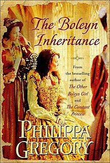 <i>The Boleyn Inheritance</i> book by Philippa Gregory
