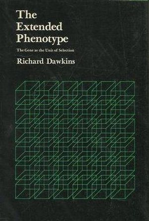 The Extended Phenotype - Cover of the first edition