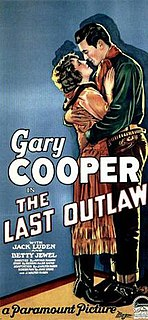 <i>The Last Outlaw</i> (1927 film) 1927 film by Arthur Rosson