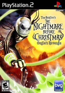 Image result for the nightmare before christmas oogie's revenge