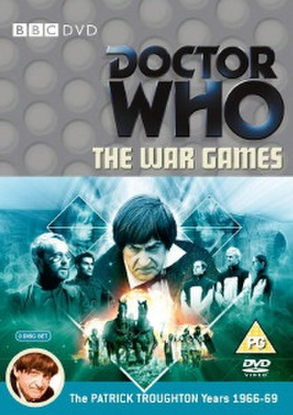 The War Games - The front cover of the UK version of the DVD.