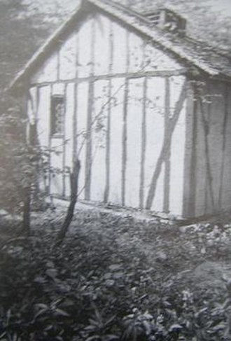 History of Wicca - The witches' cottage, located on the grounds of Fiveacres nudist club, where the Bricket Wood coven met.