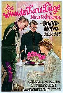 <i>The Wonderful Lies of Nina Petrovna</i> 1929 German silent drama film directed by Hanns Schwarz