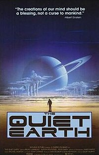 Wikipedia image of poster for The Quiet Earth