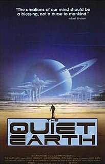 <i>The Quiet Earth</i> (film) 1985 science fiction movie directed by Geoff Murphy