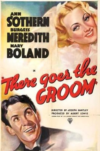 There Goes the Groom (film) - theatrical poster