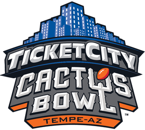 Cactus Bowl - Image: Ticket City Cactus Bowl Logo