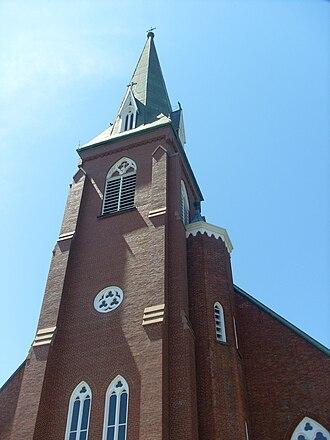 Tignish, Prince Edward Island - Image: Tignish Church 2