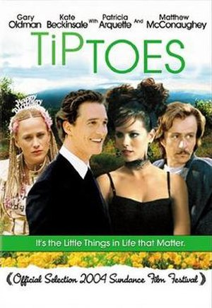 Tiptoes - DVD cover for Tiptoes