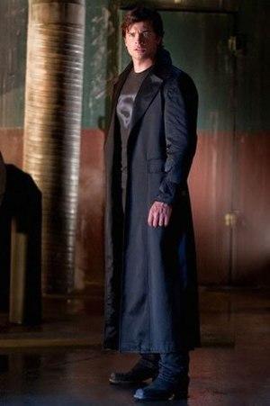 Clark Kent (Smallville) - In season nine, Clark began wearing a black costume while fighting crime in Metropolis.