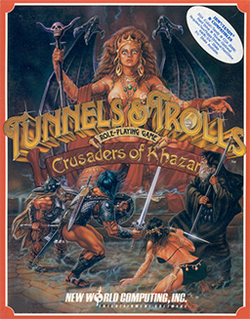 <i>Tunnels & Trolls: Crusaders of Khazan</i> 1990 video game