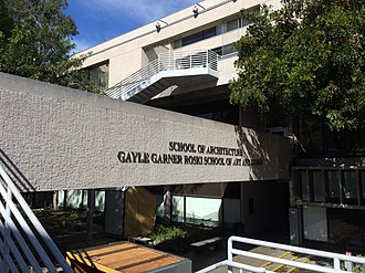 USC School of Architecture - Watt Hall houses the School of Architecture as well as the Roski School of Art and Design