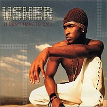 Usher - U Don't Have to Call (studio acapella)