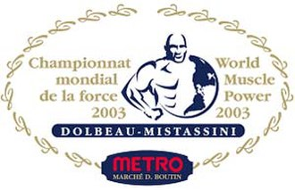 World Muscle Power Classic - The official logo of World Muscle Power 2003